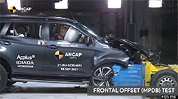 Standardising the latest in advanced safety and assist systems with a new stronger body and chassis design, the All-New Isuzu MU-X has been awarded the maximum 5 star ANCAP safety rating across all variants, tested against the latest ANCAP testing and rating criteria.