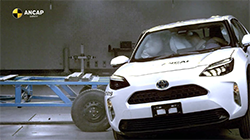 The Toyota Yaris Cross has today been awarded maximum 5 star safety ratings from independent vehicle safety authority, ANCAP.