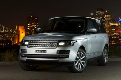 All New 2013 Range Rover TDV6 Vogue