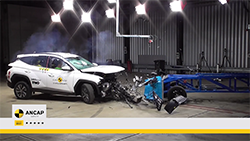 The Hyundai Tucson achieved a 5 star ANCAP safety rating following its release into the Australian and New Zealand markets earlier this year...