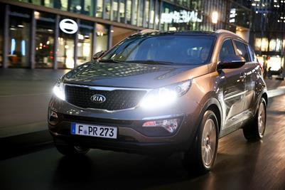 Enhanced Kia Sportage makes Geneva Show debut