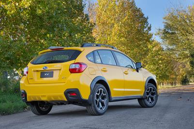 MY15 Subaru Sunshine Yellow XV Limited Edition