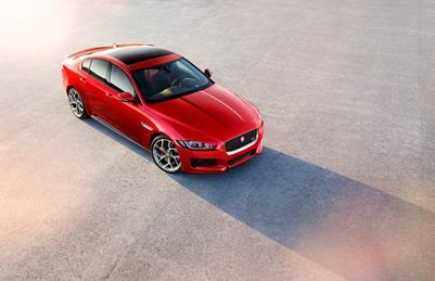 2015 Jaguar XE.