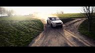 Range Rover Evoque Convertible under test.